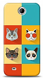 Dafoni HTC Desire 300 Four Cats K�l�f
