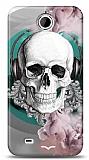 Dafoni HTC Desire 300 Lovely Skull K�l�f