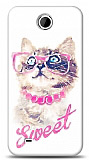 Dafoni HTC Desire 300 Sweet Cat K�l�f