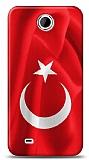 HTC Desire 300 Türk Bayrağı Kılıf