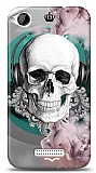 HTC Desire 320 Lovely Skull Kılıf