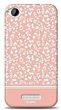 HTC Desire 320 Pink Flower Kılıf