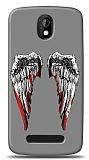 Dafoni HTC Desire 500 Bloody Angel K�l�f