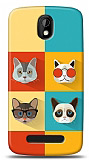Dafoni HTC Desire 500 Four Cats K�l�f