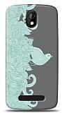 Dafoni HTC Desire 500 Green Bird K�l�f