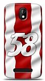 Dafoni HTC Desire 500 Kırmızı 58 Kılıf