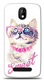 Dafoni HTC Desire 500 Sweet Cat K�l�f