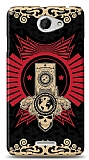 HTC Desire 516 Skull Nation Kılıf
