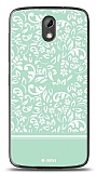 HTC Desire 526 Green Flower Kılıf