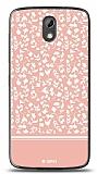 HTC Desire 526 Pink Flower Kılıf