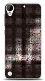 Dafoni HTC Desire 530 Black Dottes Kılıf