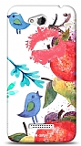 Dafoni HTC Desire 616 Water Color Kiss K�l�f