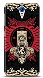 Dafoni HTC Desire 620 Skull Nation K�l�f