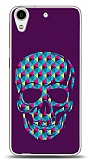 HTC Desire 626 Color Skull Purple Kılıf