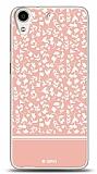 Dafoni HTC Desire 626 Pink Flower Kılıf