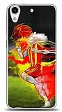 Dafoni HTC Desire 626 Sarı Kırmızı Kılıf