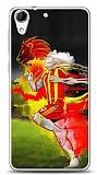 Dafoni HTC Desire 728G Sarı Kırmızı Kılıf