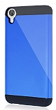 Dafoni HTC Desire 820 Slim Power Ultra Koruma Lacivert Kılıf