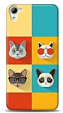 Dafoni HTC Desire 826 Four Cats Kılıf