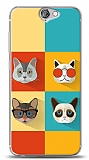 Dafoni HTC One A9 Four Cats K�l�f