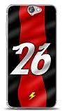 Dafoni HTC One A9 K�rm�z� �im�ekler K�l�f