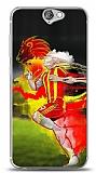 Dafoni HTC One A9 Sarı Kırmızı Kılıf