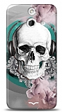 HTC One E8 Lovely Skull Kılıf