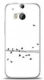 Dafoni HTC One M8 Flying Birds K�l�f