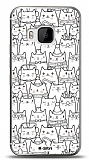 HTC One M9 Cats Kılıf