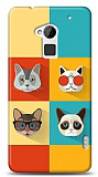 HTC One Max Four Cats Kılıf
