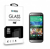 Eiroo HTC One mini 2 Tempered Glass Cam Ekran Koruyucu
