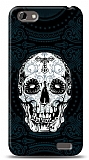 HTC One V Black Skull Kılıf