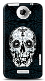 HTC One X Black Skull Kılıf