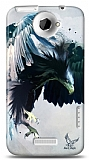 Dafoni HTC One X Black Eagle K�l�f
