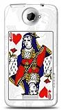 HTC One X Kraliçe Kılıf