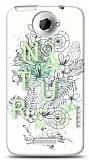 Dafoni HTC One X Nature Flower K�l�f