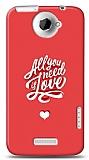 Dafoni HTC One X Need Love K�l�f