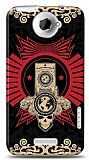 Dafoni HTC One X Skull Nation Kılıf