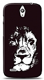 Dafoni Huawei Ascend G610 Black Lion K�l�f