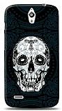Dafoni Huawei Ascend G610 Black Skull K�l�f