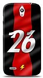 Huawei Ascend G610 Kırmızı Şimşekler Kılıf