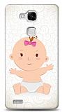 Dafoni Huawei Ascend Mate 7 Kız Bebek Kılıf