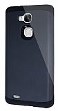Dafoni Huawei Ascend Mate 7 Slim Power Ultra Koruma Siyah Kılıf