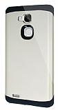 Dafoni Huawei Ascend Mate 7 Slim Power Ultra Koruma Gold Kılıf