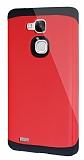 Dafoni Huawei Ascend Mate 7 Slim Power Ultra Koruma Kırmızı Kılıf