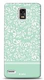 Dafoni Huawei Ascend P1 Green Flower K�l�f