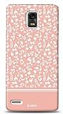 Dafoni Huawei Ascend P1 Pink Flower K�l�f