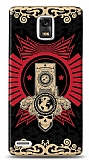 Dafoni Huawei Ascend P1 Skull Nation K�l�f