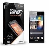Dafoni Huawei Ascend P6 Tempered Glass Premium Cam Ekran Koruyucu