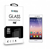 Eiroo Huawei Ascend P7 Tempered Glass Cam Ekran Koruyucu